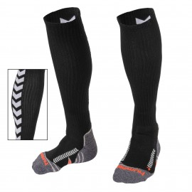 Chevron socks long black
